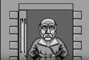 Mr Wilson In Dennis The Menace Game Boy