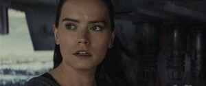 Rey senses Luke dying