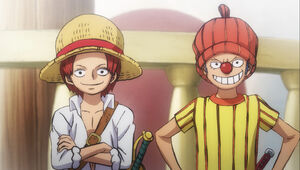 Young Shanks and young Buggy The Clown