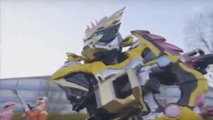 Lazer in Chou Super Hero Taisen
