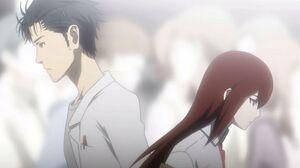 Okabe and Kurisu 3