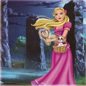 Barbie & The Diamond Castle Book Scan 4