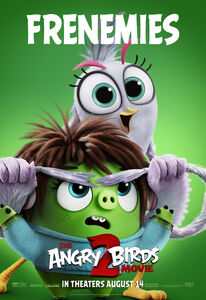 Courtney and Silver (The Angry Birds Movie 2 - Frenemies poster)