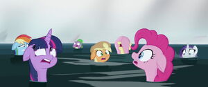 Mane 6 and Spike back to normal