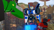 Strongarm, Grimlock, Jetstorm, and Slipstream (S3E12)