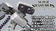 Super Smash Bros. Ultimate (Classic Mode 9.9 Intensity No Continues R.O.B