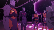 Thace and Three Galra Commanders