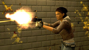 Alyx Vance - Pistol