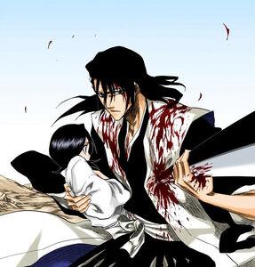 Byakuya protects