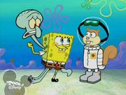 Could you help me and Squidward?