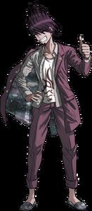 Danganronpa V3 Kaito Momota Fullbody Sprite (6)