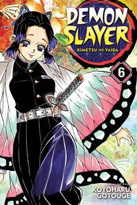 Demon Slayer Volume 6 cover