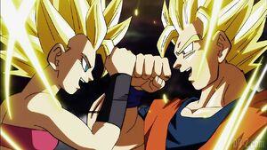 Goku-vs-Caulifla-Super-Saiyan-2-1