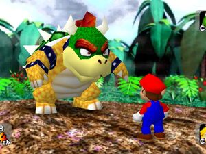Mario party 64 mario and bowser