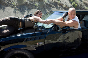 Michelle Rodriguez as Letty Ortiz in Fast & Furious (2009) 41