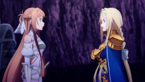 Asuna and Alice