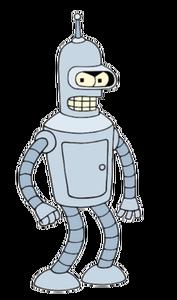 Bender Bending Rodríguez render