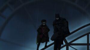 Damian and Batman