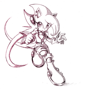 Lilac old sketch