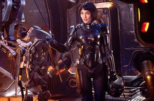 Rinko Kikuchi as Mako Mori in Pacific Rim 321