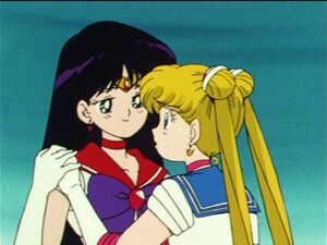 Sailor moon episode 45 sailor mars and sailor moon
