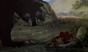 Copper at the mercy of the Giant bear