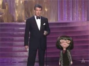 Edna Mode at Oscars 2005