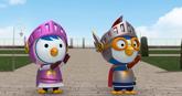 Knight Pororo and Knuight Petty