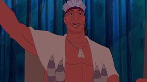 Powhatan's speech