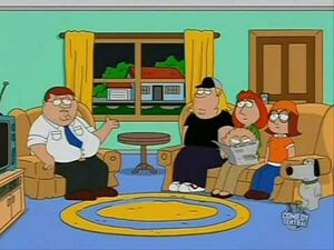 South park peter griffin cameo