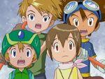 Taichi, Hikari, Yamato & Takeru Wet