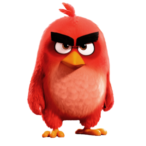 Angry Birds Movie Red 10