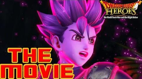 Dragon Quest Heroes The World Tree's Woe and the Blight Below - THE MOVIE (2015) All Cutscenes HD