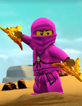 Pink Ninja