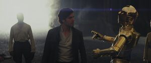 Poe and C3PO - TLJ