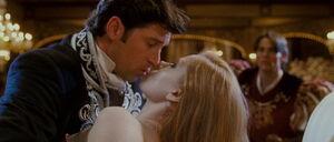 Giselle & Robert's kiss