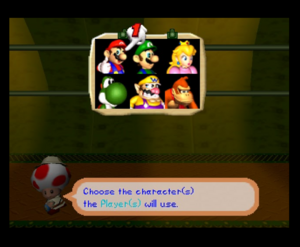 Mario party 2 64 all characters