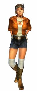 Michelle in Tekken Tag Tournament