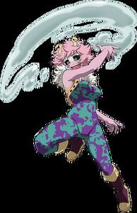 Mina Ashido Hero Costume Anime Action