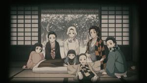 Nezuko's family
