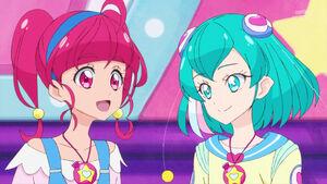 STPC49 Hikaru wants Lala and Fuwa to see her classmates again