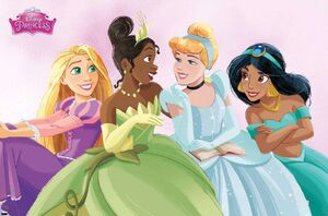 Disney Princesses talk