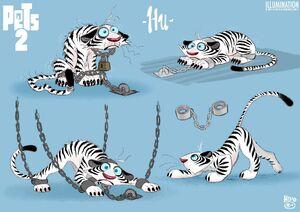 Hu - The Secret Life of Pets 2 concept art 7