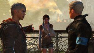 Kat, Dante and Vergil