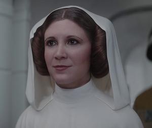Leia Organa smile