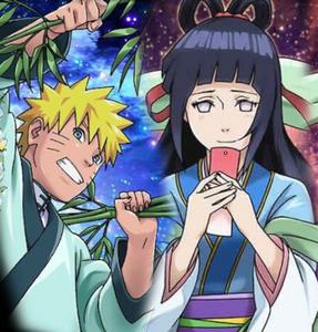 Naruto and Hinata Tanabata Card 1