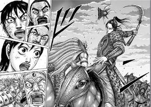 Shou Hei Kun decapitates and kills Wa Tegi Kingdom