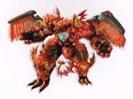 GeoForge Dragonoid packaging art