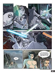 The-Last-Jedi-Graphic-Novel-Adaptation - Kylo tells Rey about Luke