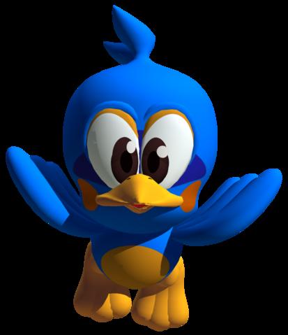 Blue Flicky